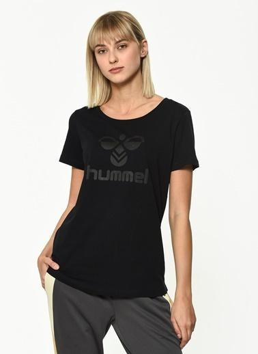 Hummel Kadın Agoptos Tişört 910673-2001 Siyah